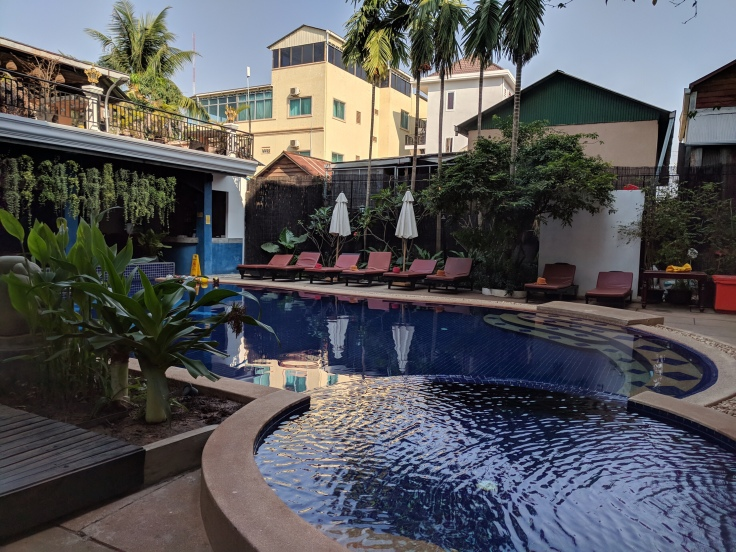 Pool des Apsara Dream Hotels