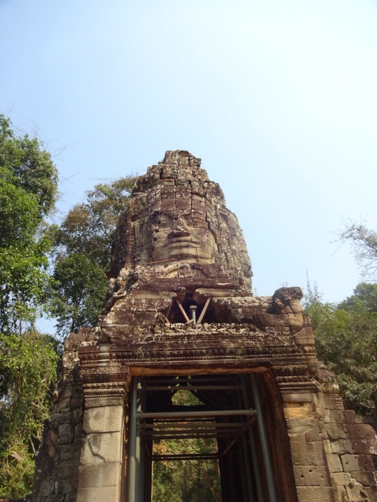 Angkor Thum Steingesicht