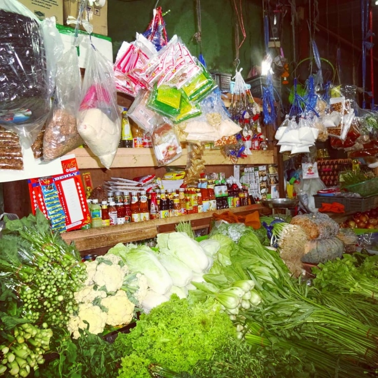 Local Market - vegetables