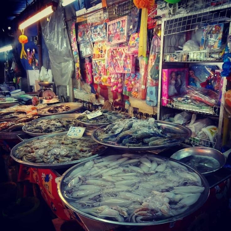 Local Market - sea food