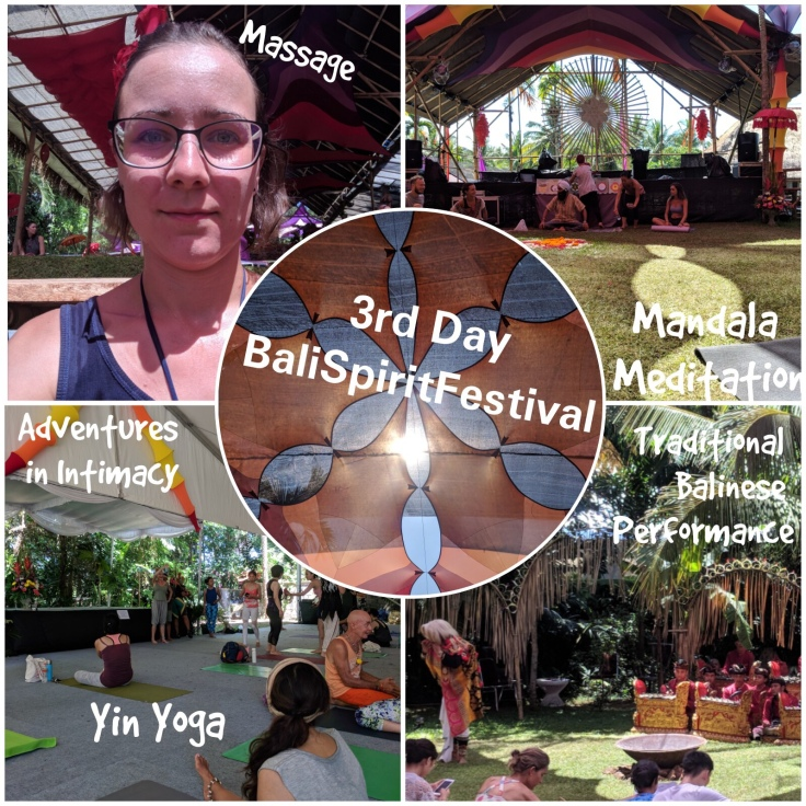 3rd Day at BaliSpiritFestival