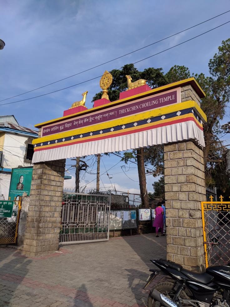 Eingang zum Dalai Lama Tempel